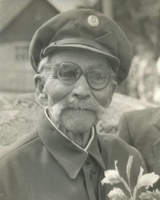 The only participant in the battle of Kruty, who lived to Ukrainian independence