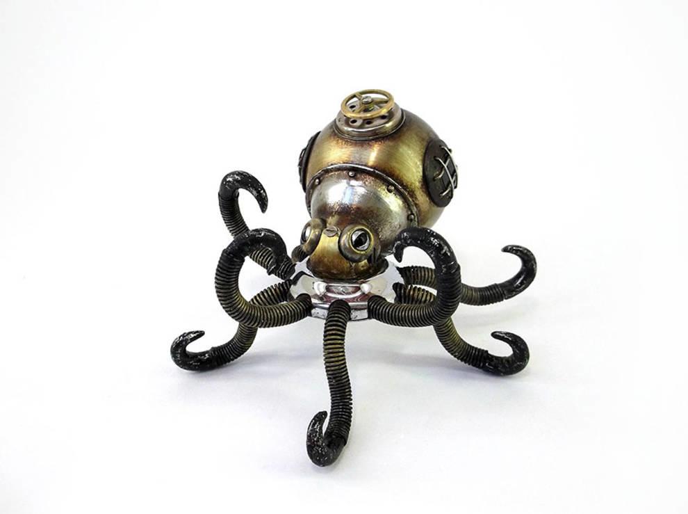 Скульптуры в стиле Steampank от красноярского мастера