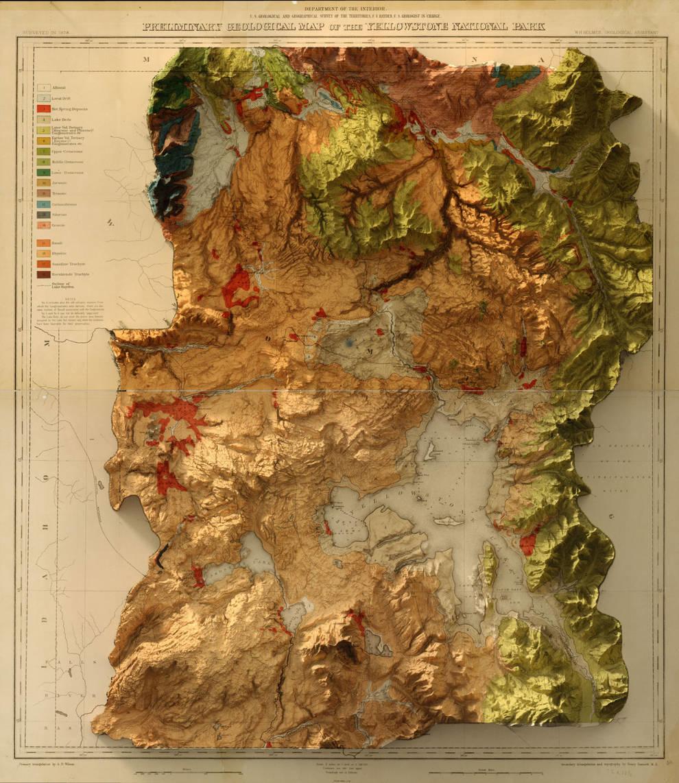 Цифровые тени на старинных картах: новый взгляд на известные ландшафты