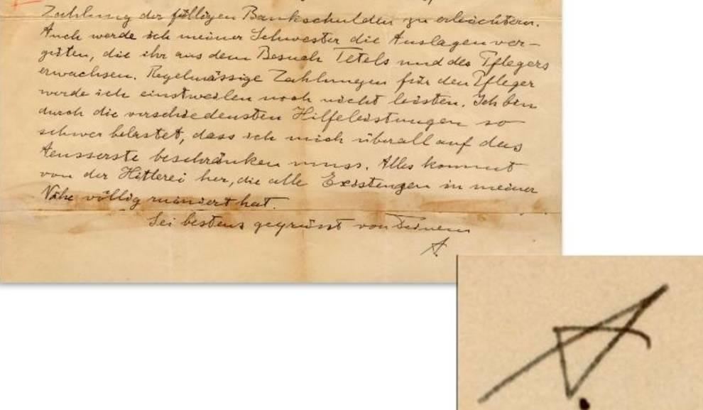 Письмо Эйнштейна о Гитлере продали на аукционе в Лос-Анджелесе