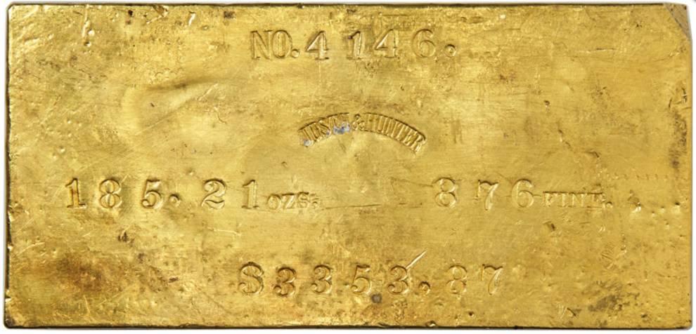 В США продали золотые слитки с затонувшего парохода «Центральная Америка»