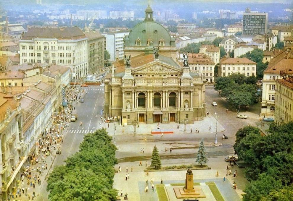 Фото Львова советской эпохи