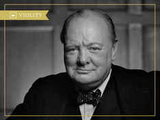 Уинстон Черчилль — премьер-министр Великобритании
