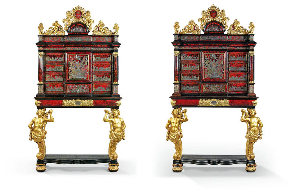King's Cabinets and Queen's Table: Rothschilds will auction European monarchs furniture