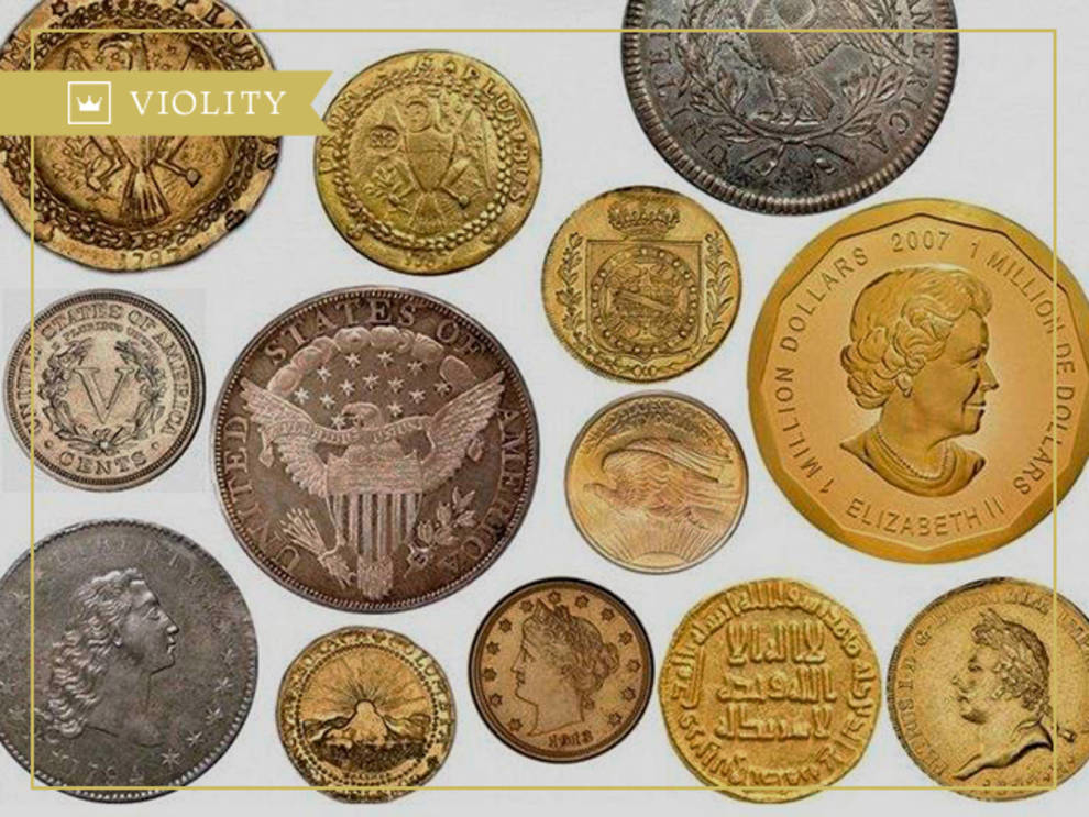 Find out what the most expensive coins look like