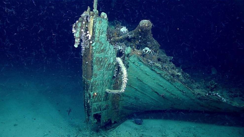 At the bottom of the Gulf of Mexico, scientists have discovered an ancient ship
