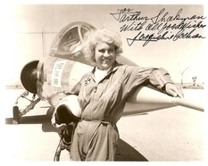The first woman to fly a jet
