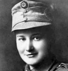 Elena Stepanov-Dashkevich: the first Ukrainian female officer