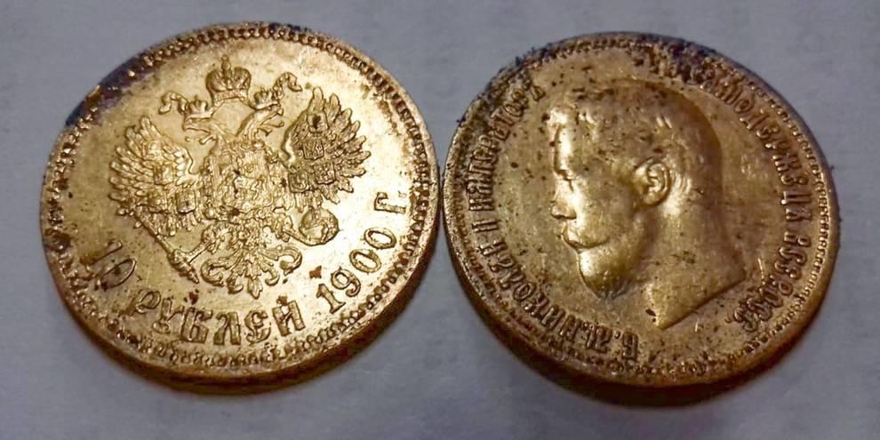 В подвале старого дома нашли монетный клад времен Николая II