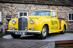 На аукционе в Великобритании продали эксклюзивный пикап Bentley