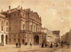 Театр «Ла Скала» был построен на средства 90 аристократов Милана