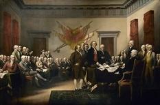 Как происходило подписание Декларации независимости США?