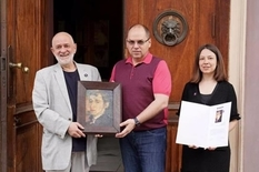 Одесскому музею подарили картину Вениамина Бабаджана