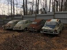 Внушительная коллекция редких классических автомобилей SAAB