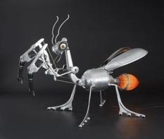 Симпатичные роботы из ненужных деталей