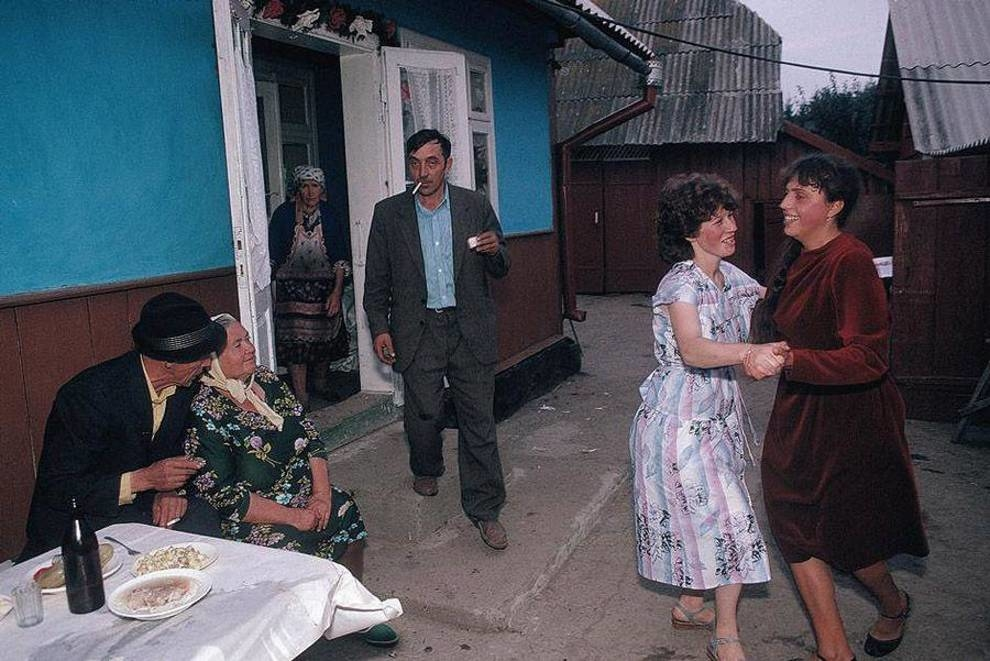 Ukraine of the late 80s in the works of Western photographers