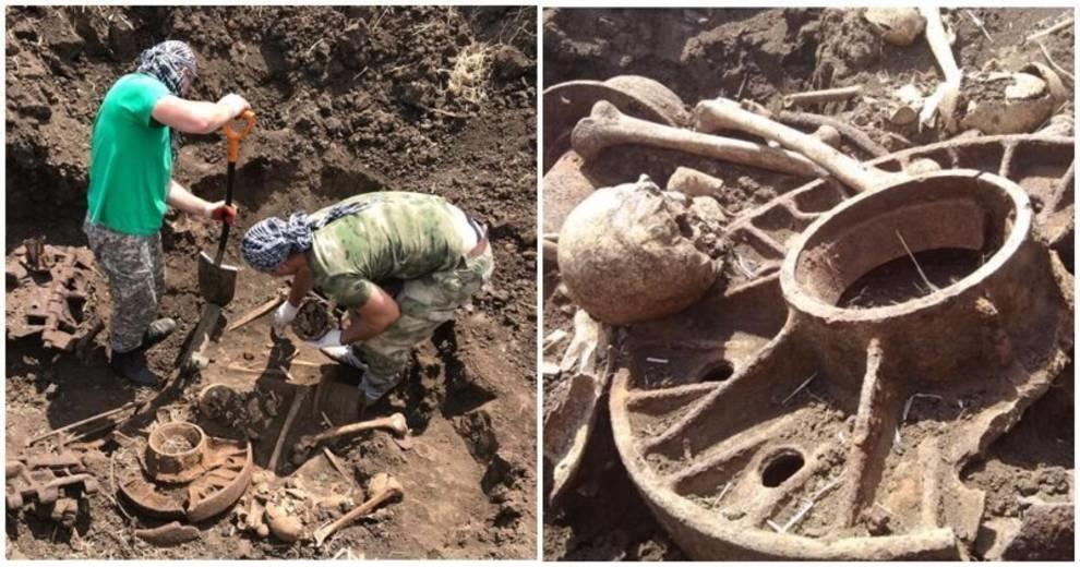 Танк КВ-1 с погибшим экипажем — находка ростовских поисковиков