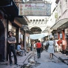 30 цветных снимков Стамбула 70-х годов