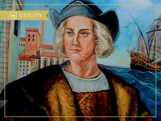 The first journey of Christopher Columbus