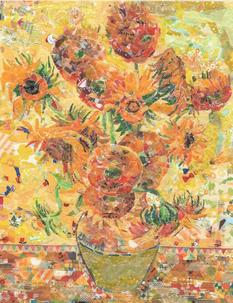 От Вермеера до Ван Гога: репродукции знаменитых картин из маскирующей ленты