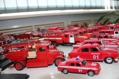 Персональный автопарк пожарных машин увлеченного огнеборца