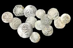 Монетный клад из мавзолея святого шейха