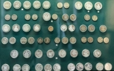Collection of coins from the National Museum of History of Ukraine