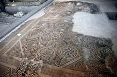 Редчайшая древняя мозаика будет открыта для публики
