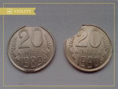 Какие виды брака монет существуют?