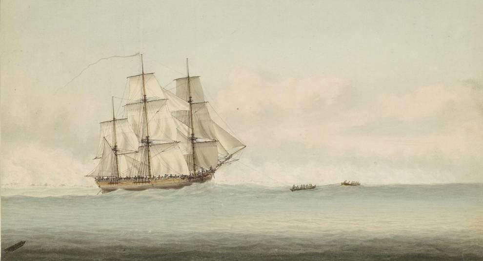 Ученые подтвердили, что останки корабля у Ньюпорта принадлежат «Индевору»