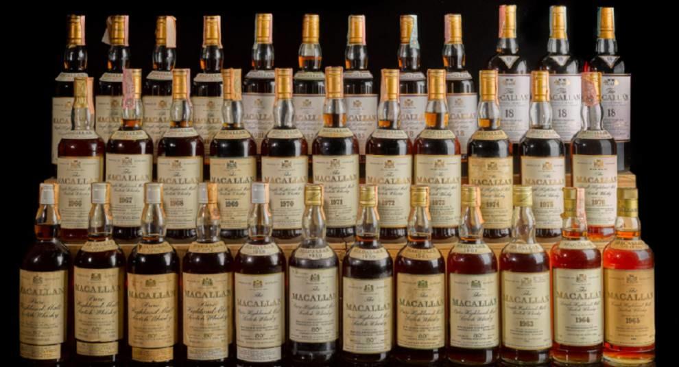 На Sotheby's продадут самую ценную в мире коллекцию виски
