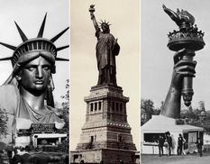 Для Статуи Свободы позировала вдова Исаака Зингера