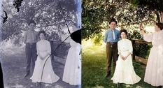 Restored images: second life to old photos