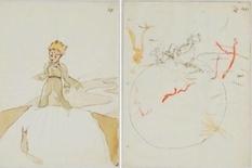 Найдены иллюстрации Экзюпери к «Маленькому принцу»