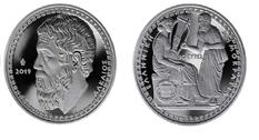 В Греции подготовили памятную монету в честь Алкея