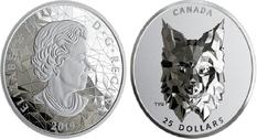 Вышло пополнение монетной серии «Дикая природа Канады»