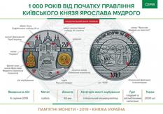 1000 лет с момента восхождения на престол: Ярославу Мудрому посвятили монету