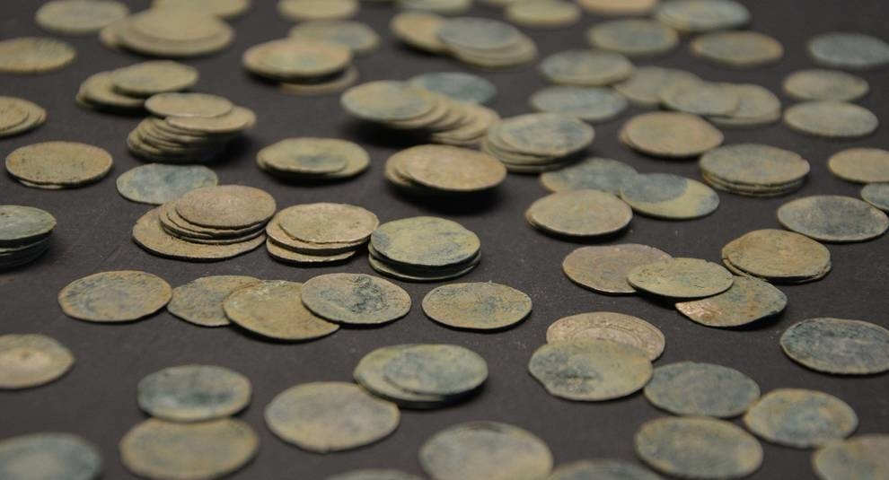 В Дании нашли крупный клад монет
