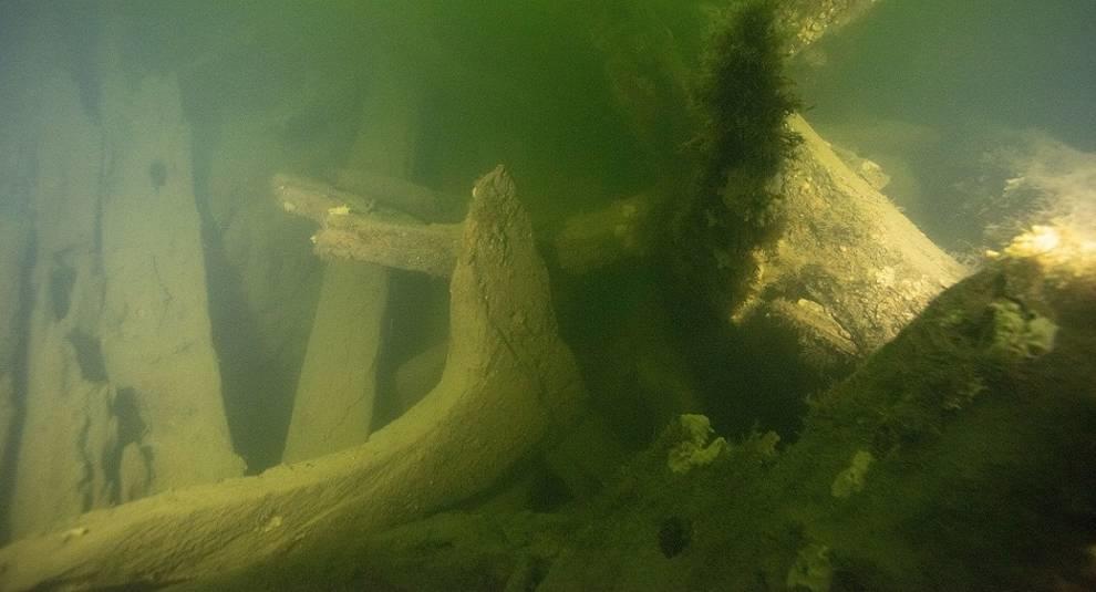 В Швеции обнаружены обломки крупного корабля
