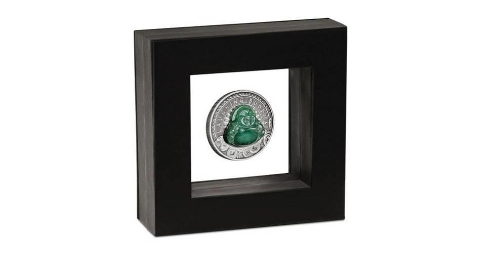 Государство Тувалу выпустило монету с объемным Буддой