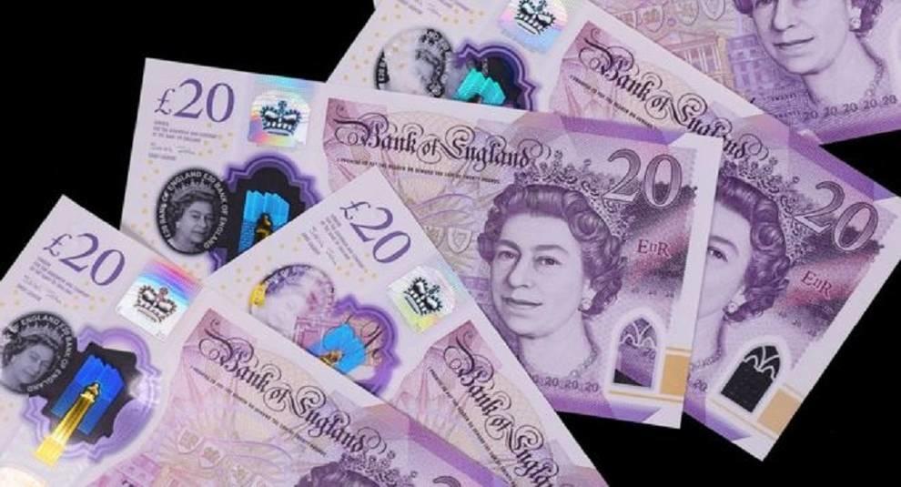 20 фунтов стерлингов – новая купюра в Великобритании