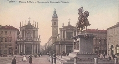 Турин на фотографиях прошлых веков