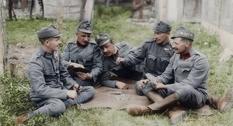 Удивительные кадры: как выглядят солдаты Первой мировой войны в цвете