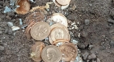In Kursk found a treasure of gold coins