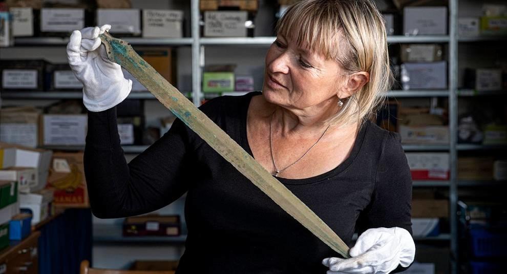 В Чехии найден меч периода лужицкой культуры