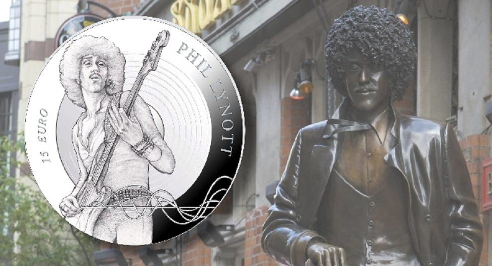 Ireland to issue coin in honour of Phil Lynott