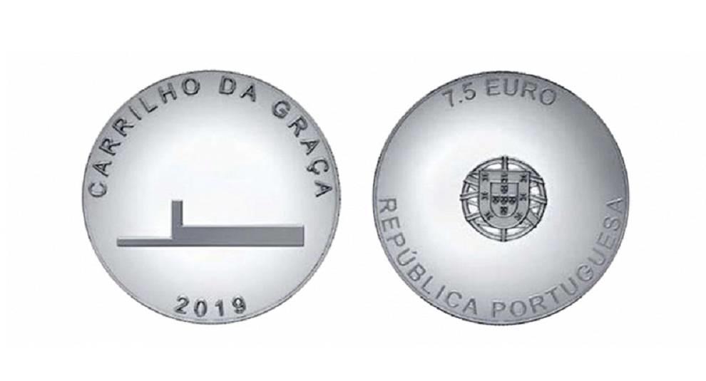 В Португалии выпущена памятная монета номиналом 7,5 евро
