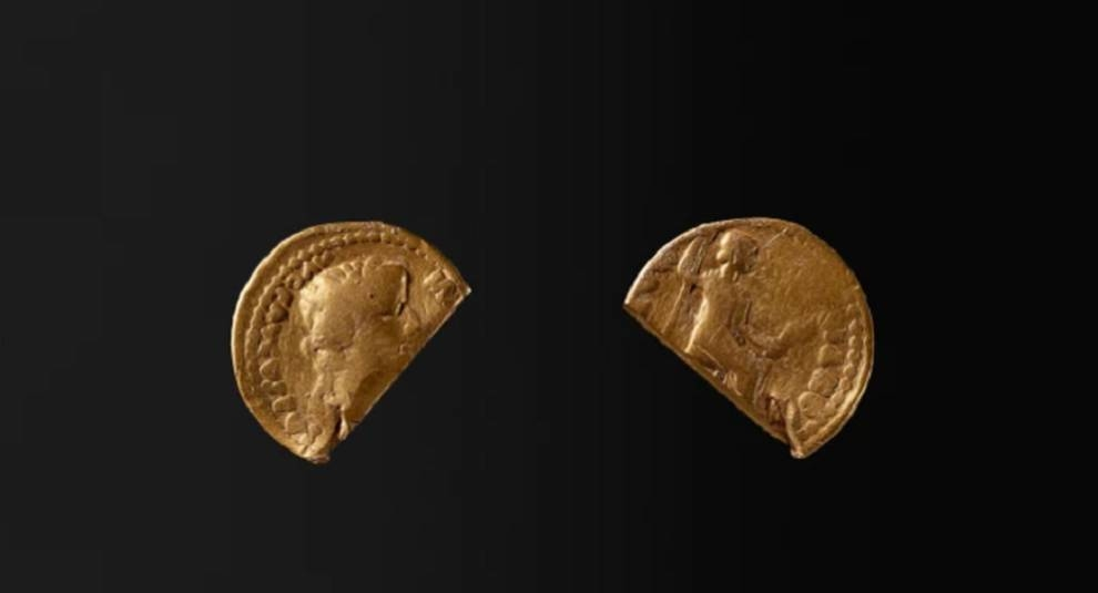 In Denmark dug up a coin of the time of the Roman Emperor Tiberius