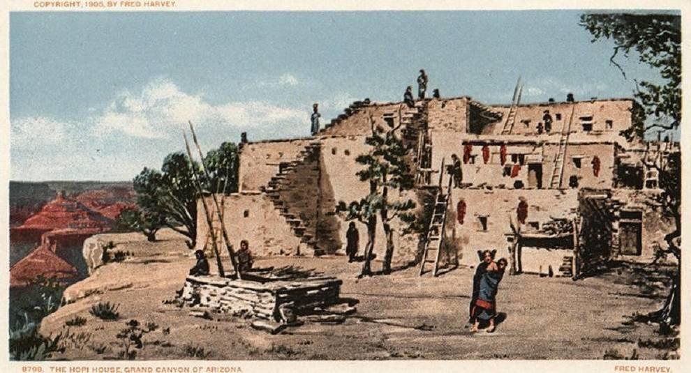 Жизнь коренных американцев: 20 красочных открыток