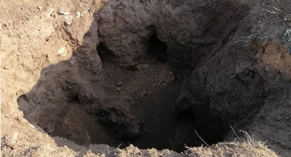 In Zaporozhye the mound was looted, scientists will check the graves